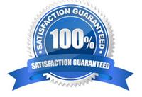 100% Satisfaction Guarenteed