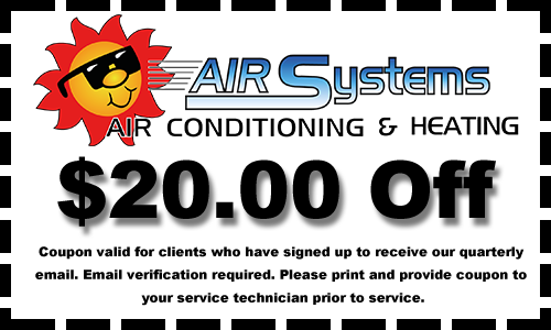 $20 Coupon for Air Conditioning and Heating Services Friendswood Texas