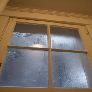 Foggy Windows a sign of humidity